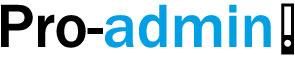 Pro-admin Logo